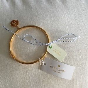 Kate Spade One in a Million Initial Bracelet